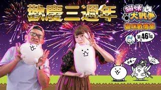 貓咪戰情室-慶祝貓咪邁入三週年!!第46喵 【官方影片】 thumbnail