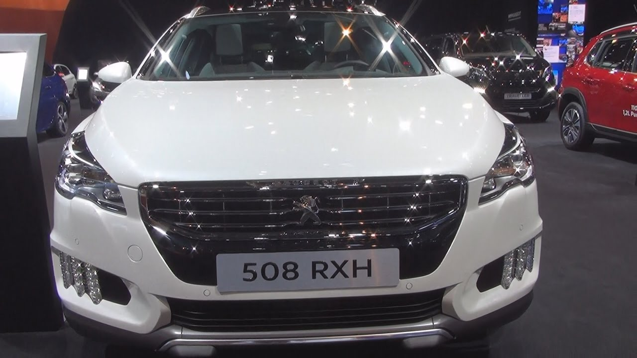 peugeot 508 rxh hybrid4 2.0 hdi 163 s&s etg6 (2017) exterior and