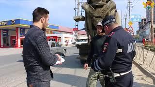 В Кировском районе ведутся мероприятия по нарушителям осуществляющих перевозку сыпучих материалов