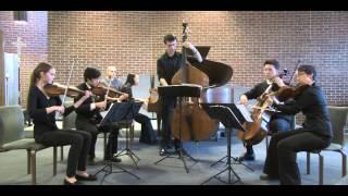 CMC: Piano Sextet Op. 110 (III. Menuetto IV. Allegro Vivace) Mendelssohn (2015 Winter Finale)