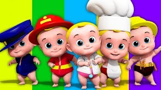 Junior Squad Five Little Babies + More Nursery Rhymes & Songs for Babies