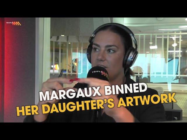 Margaux Binned Her Kid's Artwork | Triple M
