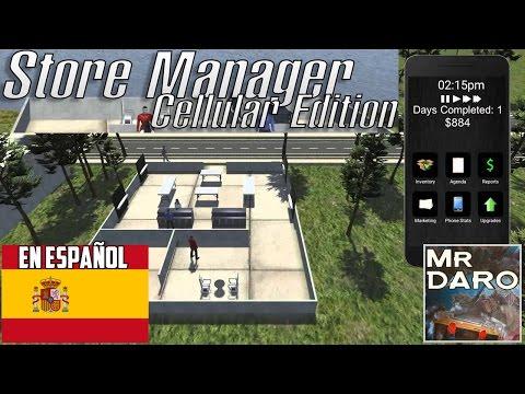Store Manager: Cellular Edition-Gameplay   ¡Descubrelo!   Español  