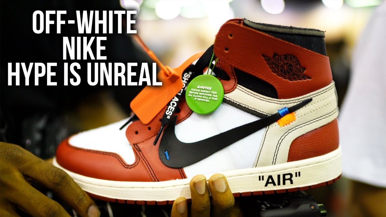 59dfa117f98e These Off-White x Nike Shoes Have A LOT of HYPE - YouTube