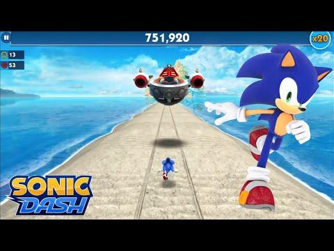 Sonic Dash (iOS) - Sonic Gameplay