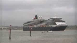 The 3 Queens Cunard Ships Timelapse (cunard Ships From 40 Seconds)