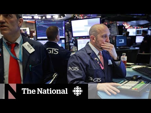 Markets plunge amid worst Christmas Eve session on record