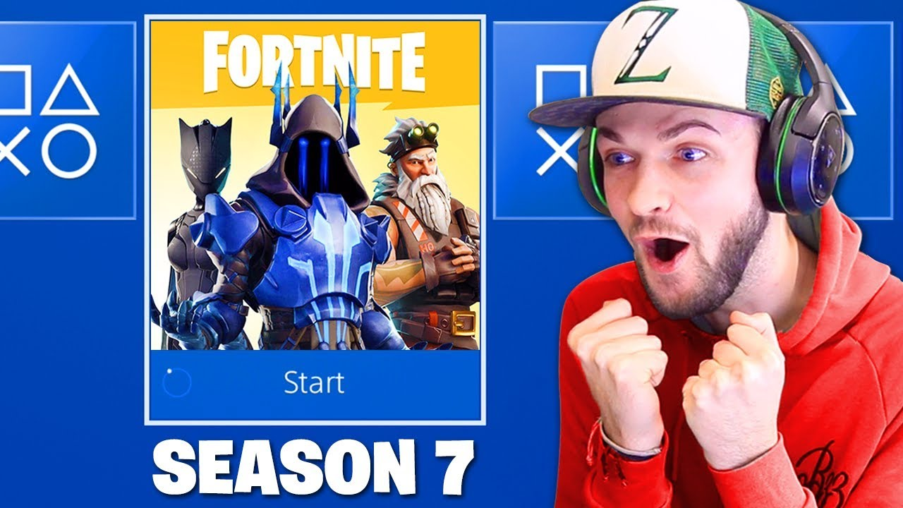This Is Fortnite Season 7 New Skins Youtube