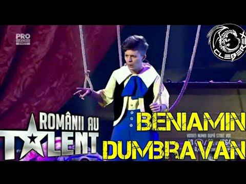 Romanii au talent - Beniamin Dumbravan (semifinala 19/05/17)