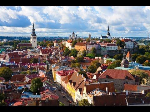 السياحة المذهلة | تغطية الأخ مصعب لمدينة تالين عاصمة استونيا | 2017 Tallinn Capital of Estonia
