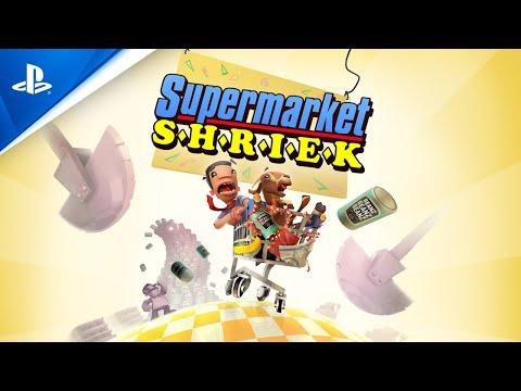 Supermarket Shriek - Announcement Trailer | PS4