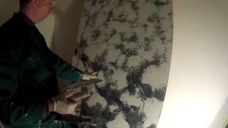 Венецианская штукатурка СЕМНАНСКАЯ фреска техника нанесения