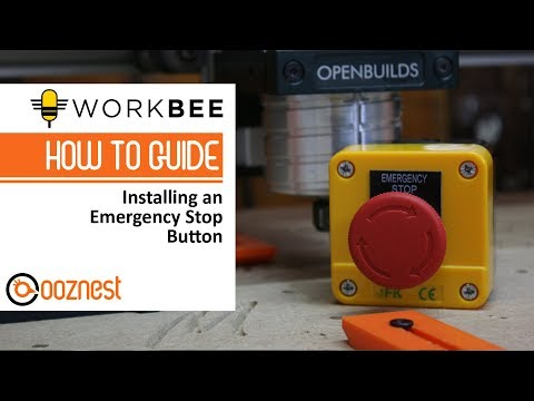 emergency shut off switch wiring diagram for how to install an emergency stop button on your workbee cnc  how to install an emergency stop button