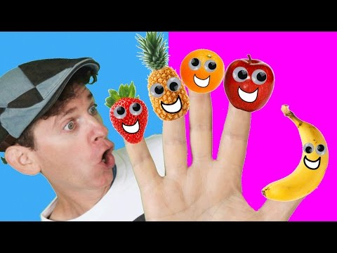 Thumbnail: Finger Family Song - Fruit Family With Matt | Nursery Rhymes, Children's Song | Learn English Kids