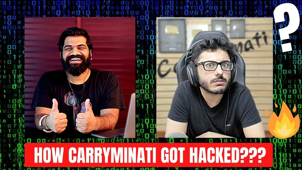 Download How CarryMinati Got Hacked🔥🔥🔥
