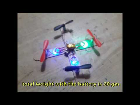 Moontop 9911 Nano Quadcopter Motor Prop Power Mod/Hack/Repair/flight Part1