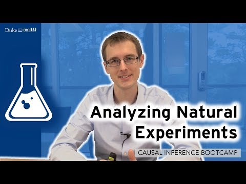 Analyzing Natural Experiments: Causal Inference Bootcamp