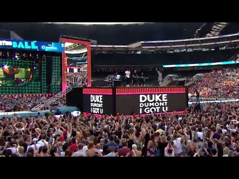 Duke Dumont - I Got U (Summertime Ball 2014)