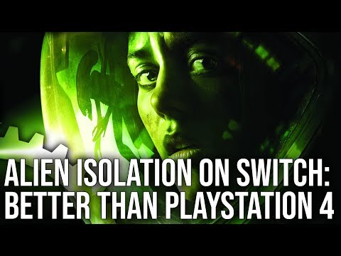 Alien Isolation Switch Review: Image Quality Is Better Than PS4!