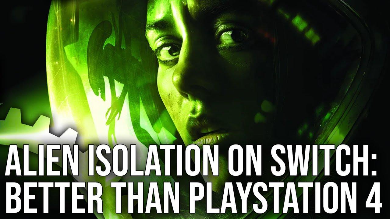 Καλύτερο το Alien Isolation σε Switch απ'ότι σε Playstation 4