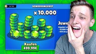 JEDE NIEDERLAGE = 2000 GEMS KAUFEN! (unglaublich teuer😅) | Brawl Stars deutsch