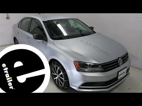 Glacier Cable Snow Tire Chains Review - 2016 Volkswagen Jetta - etrailer.com