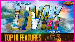 SEASON 14 UPDATE : TOP 10 FEATURES IN NEW MAP LIVIK ( 0.19.0 UPDATE PUBG MOBILE )