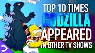 10 Times Godzilla Appeared In Other TV Shows!