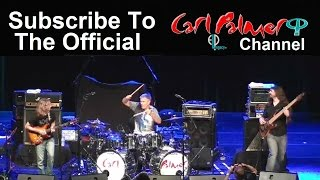 CARL PALMER ELP LEGACY 2015 RHYTHM OF LIGHT WORLD TOUR CONTINUES