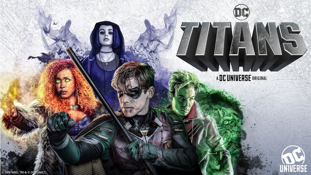 Dc 2019 Movies Poster: TITANS: BINGE - YouTube