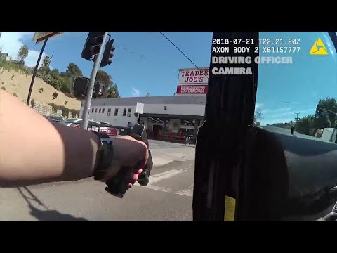 Dramatic Moments of California Trader Joe's Hostage Situation Caught on Video