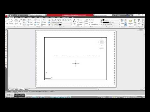 How To Set Dash Line Scale In AutoCAD
