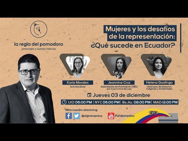 Mujeres y los desafíos de la representación: ¿Qué sucede en Ecuador?