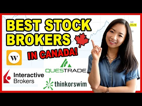 Best Day Trading Brokers In Canada- Questrade, Interactive Brokers, Thinkorswim, Wealthsimple & More