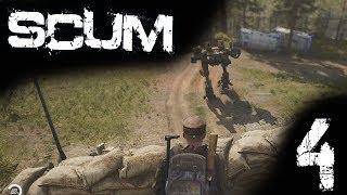 SCUM Gameplay DE #004 Gigantischer Bunker
