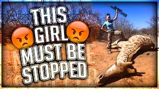 THIS GIRL MUST BE STOPPED (ANIMAL KILLER)
