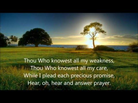 I am Praying (Lyrics) - The International Staff Songster