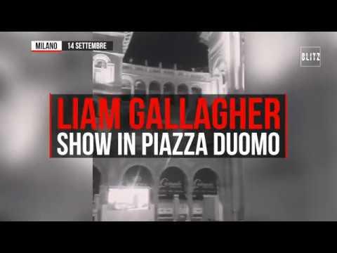 Liam Gallagher, Concerto Live In Piazza Duomo A Milano: Canta Anche Wonderwall