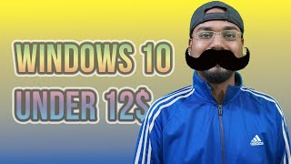 Windows 7 is ending? How to get the activated win 10 under 12$