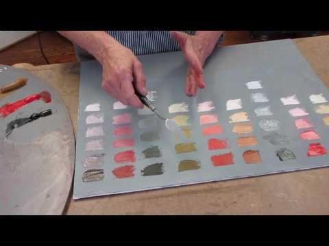 Creating a Color Chart using The Zorn Palette - Robin Wellner