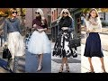 The best winter midi skirt outfits