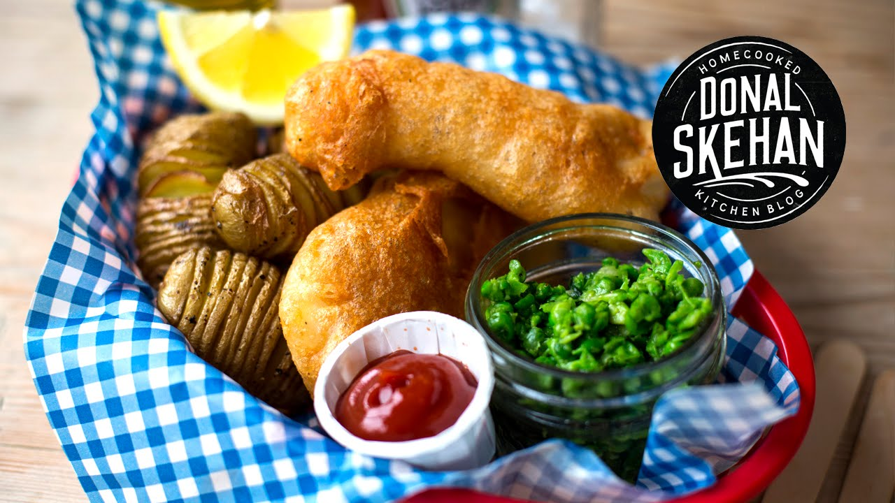 The best fish chips youtube for Best fish and chips recipe