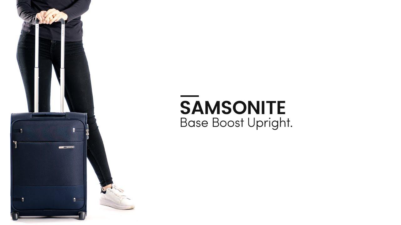34bc5a43c25 Samsonite Base Boost Upright - Bagageonline - YouTube