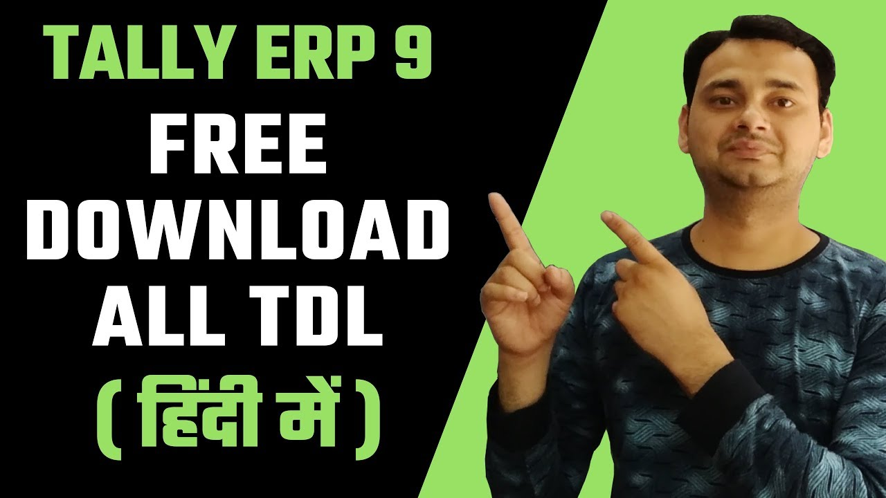 Introduction to tally definition language tdl youtube.