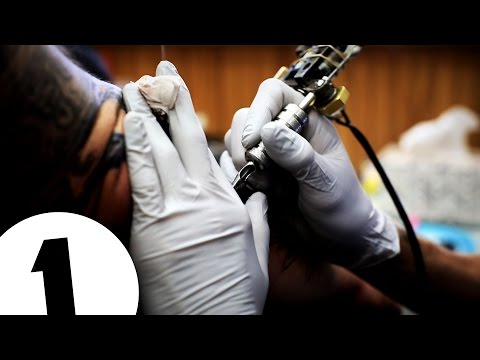 Angelina Jolie's Tattoo Artist | A List Ink | LA