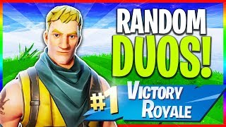 🔴 Solos & Trolling Random Duos! // Fortnite Update Tomorrow (Fortnite: Season 5 LIVE Gameplay)