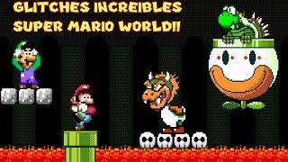 Los Glitches más Increíbles y Locos de Super Mario World - Pepe el Mago