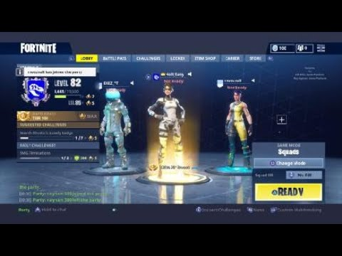 Fortnite BR With EKEZ I Saw the commet fly down OMG