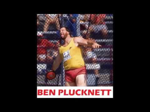 Ben Plucknett (world record holder in discus and highland games).