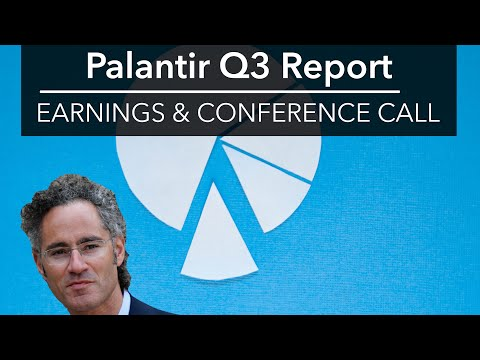 Palantir Q3 Full Earnings Call Recording 🔴  | PLTR's First Quarterly Conference Call